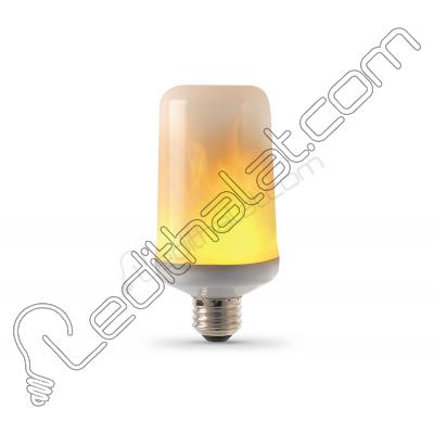4 Watt Alevli Led Ampul