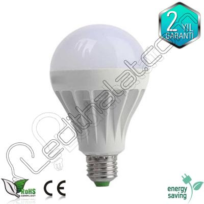 Akülü 7 watt led ampul