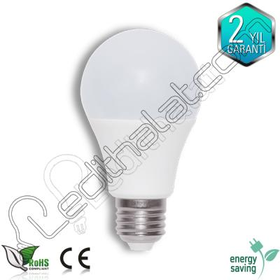 E27 duylu 7 watt led ampul